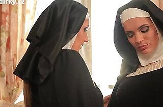 Sacred Nuns Lesbian Sex