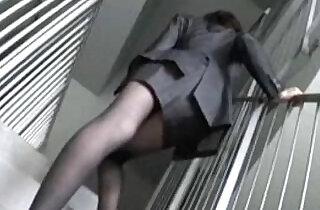 a woman office worker modeling as an amateur model Juri