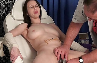 Medical needle torment and bizarre pussy humiliation of slaved uk patient Emily