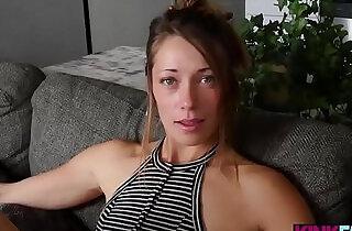Slender stepsister fucks her blackmailing stepbrother