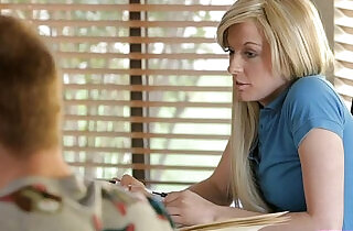 Moms Teach Sex Mom turns study time into fuck first time