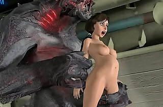 elizabeth fucked by a monster