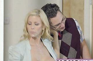 Lucky Son Fucks Step Mom Alexis Fawx Then Teen Lily Rader