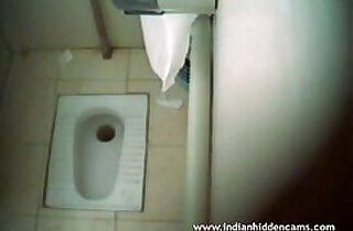 Indian Babe Naked In Public Toilet