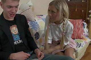 Russian Schoolgirl Wants Anal Sex