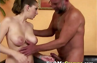 Alice sucking old big dick