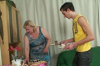 Wife busts her man fucking her mom