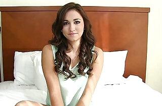 TeensDoPorn lovely barely legal brunette casting sex