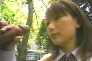 Japanese Blowjob in the park