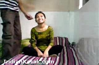 North Indian Teen in Suit Salwar
