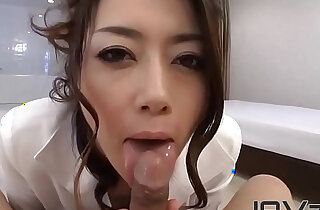 POV Japanese Blowjob From
