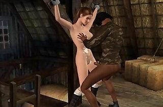 Lara Croft captured two
