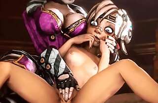 Borderlands Moxxis Bar Girls Compilation