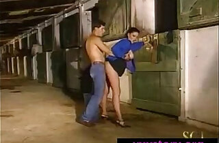 Girl gets Fucked In The Stable