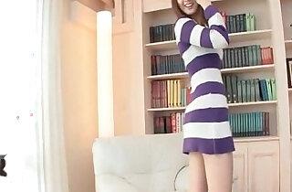 Cute Japanese school girl naked