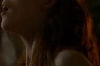 Leslie Rose in Game of Thrones sex scene