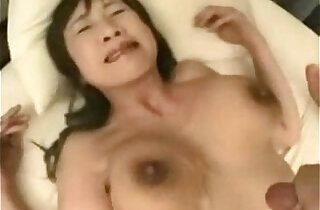 Shaved Milf Fuck each other With Tit Cum