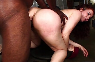 Nympho fucked by her boss at work
