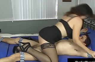 Hot milf charlee chase binds tickles sucks fucks a dude