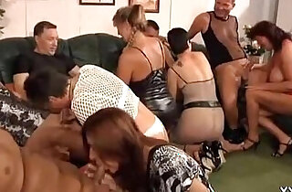 GRANNY PRIVATE PARTY ORGY