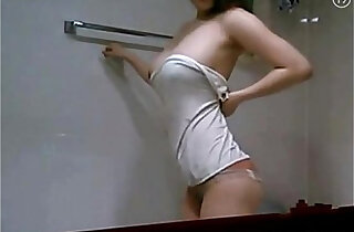 korean hot beauty taking shower