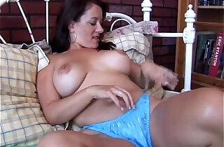 Sexy asian MILF is feeling horny