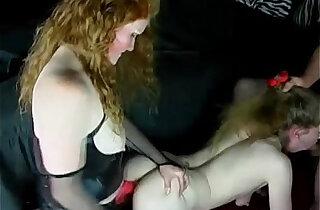 Katie Is Dominated By Her Sex Master And Mistress