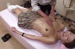 school girl massage and