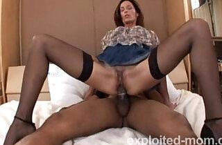 Hot amateur blonde milf banging black big cock in Mature Pussy Video